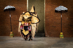 Barong dance. Is one of  Balinese culture Stock Image