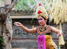 Barong e Kris Dance eseguono, Bali, Indonesia Immagine Stock