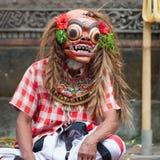 Barong e Kris Dance eseguono, Bali, Indonesia Immagini Stock