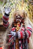 Barong e Kris Dance eseguono, Bali, Indonesia Immagini Stock Libere da Diritti