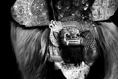 Barong, een schepsel in mythologie van Bali, Indonesië royalty-vrije stock afbeeldingen
