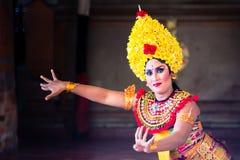 Barong en Kris Dance, Bali, Indonesië stock afbeeldingen