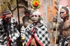 Barong and Kris Dance perform, Bali, Indonesia Stock Photos