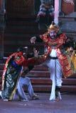 Barong and kris dance Royalty Free Stock Image