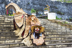Barong Lion, Bali, Indonesia. Image of a Barong Lion, a mythical creature used in Barong dances of Bali, Indonesia Stock Photos