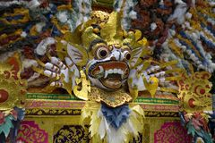 Barong mask 3 Stock Photo