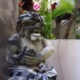 Barong skulptur royaltyfri fotografi