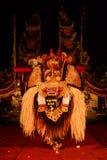 Barong taniec tradycyjny balijczyka występ Zdjęcie Royalty Free