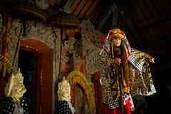 Barong-Tanz, Lion Dance lizenzfreies stockbild