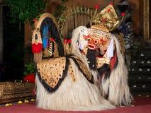 Barongdans in Bali stock afbeeldingen