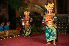 Barongdans in Bali stock afbeelding