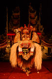 Barongdans, de traditionele Balinese prestaties royalty-vrije stock foto