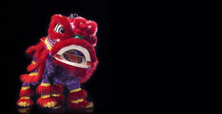 Barongsai (κινεζικός δράκος) Στοκ Φωτογραφία