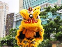Barongsai or Dragon Dance Stock Image