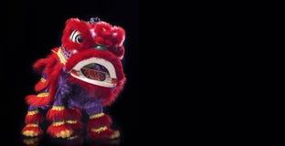Barongsai (kinesisk drake) arkivbild