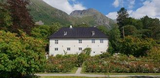 Baronia Rosendal, Norvegia fotografia stock libera da diritti
