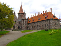 Baronial Castle of the 19th century. In Latvia Stock Images