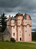 Baronial Craigievar Castle Royalty Free Stock Images