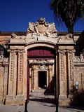 Baroque. Door to Palace in Mdina Stock Photo