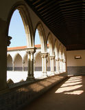 Baroque arches. From a monastery courtyard Royalty Free Stock Image