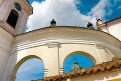 Baroque Arches of Church in Tykocin Royalty Free Stock Photo