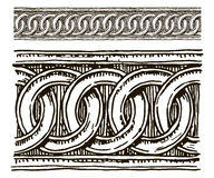 Baroque architectural detail. Stock Images