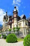 Baroque architectural style of Peles castle Stock Images
