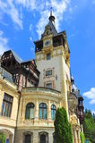 Baroque architectural style of Peles castle Royalty Free Stock Photos