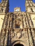 Baroque Architecture. Baroque building in San Miguel de Allende, Central Mexico Royalty Free Stock Photo