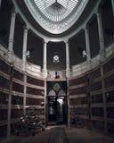 Baroque architecture church city Porto PortugalCmentario agramonte royalty free stock photography