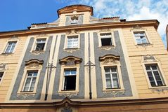 Baroque Architecture, Prague. Stock Photography