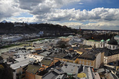 Baroque Architecture. Salzburg cityscape, Austria. Royalty Free Stock Photography