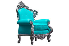 Baroque armchair Stock Images