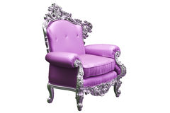 Baroque armchair Stock Photo