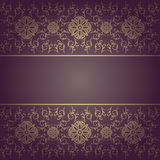 Baroque  background floral Stock Photography