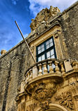 Baroque Balcony Royalty Free Stock Photos
