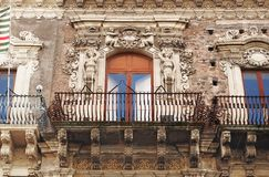 Baroque balcony Royalty Free Stock Photography