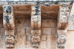 Baroque Balcony of Noto, Sicily, Italy Royalty Free Stock Photography