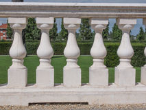 Baroque balustrade Royalty Free Stock Images
