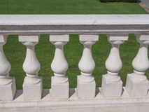 Baroque balustrade Stock Image