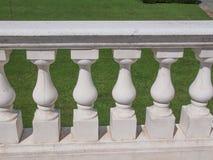 Baroque balustrade Stock Image