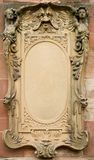 Baroque bas-relief board Stock Image