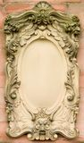 Baroque Bas-relief Board Stock Image