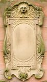 Baroque bas-relief board Royalty Free Stock Photos