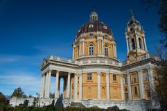 Turin Superga Church Royalty Free Stock Images