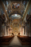 Baroque Basilica Italy Royalty Free Stock Photos