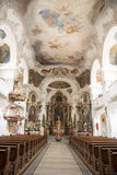 Baroque Bavarian Church Royalty Free Stock Image