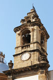 Baroque bell tower , from palermo Royalty Free Stock Images