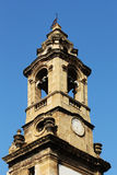 Baroque bell tower , from palermo Royalty Free Stock Photography