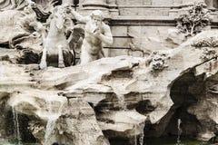 Fontana di Trevi, Rome, Italy. Baroque bernini´s masterpiece fontana di trevi at Rome city, Italy Royalty Free Stock Image